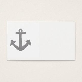 Tarjeta De Visita Ancla náutica