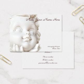 Tarjeta De Visita Ángel blanco