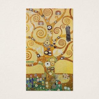 Tarjeta De Visita Árbol de Klimt de la vida
