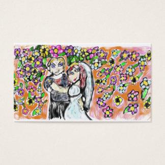 Tarjeta De Visita arte 4 del boda