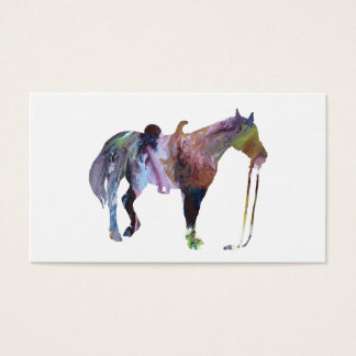 Tarjeta De Visita Arte del caballo
