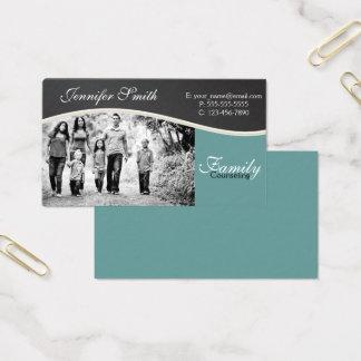 Tarjeta De Visita Asesoramiento de la familia