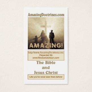 Tarjeta de visita asombrosa de la doctrina