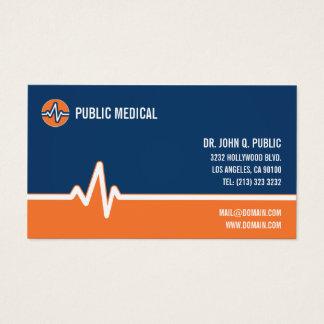 Tarjeta De Visita Atención sanitaria médica