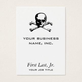Tarjeta De Visita Bandera pirata