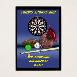 Tarjeta De Visita barra de deportes
