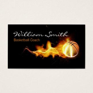 Tarjeta De Visita Basketball Coach Business Card