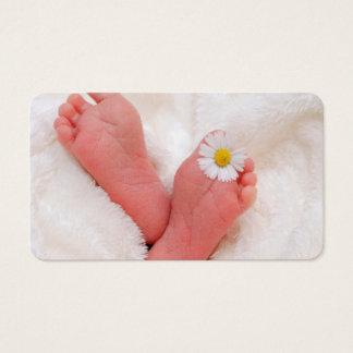 Tarjeta De Visita Bebé recién nacido