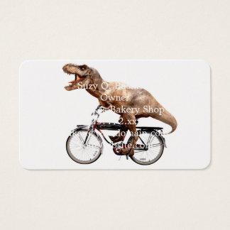 Tarjeta De Visita Bici del montar a caballo de Trex