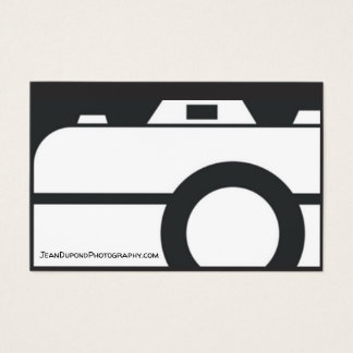 Tarjeta De Visita Business Card Photographer