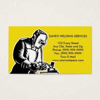 Tarjeta De Visita businesscard de la soldadura del soldador