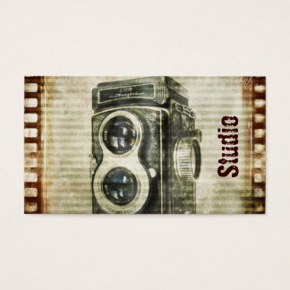 Tarjeta De Visita Cámara del vintage de la fotografía del fotógrafo