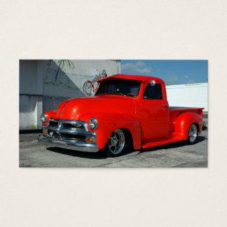 Tarjeta De Visita Camioneta pickup modificada para requisitos