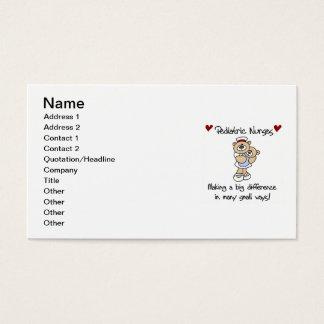 Tarjeta De Visita Camisetas y regalos pediátricos de las enfermeras