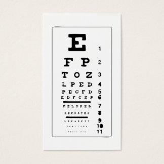 Tarjeta De Visita Carta de ojo