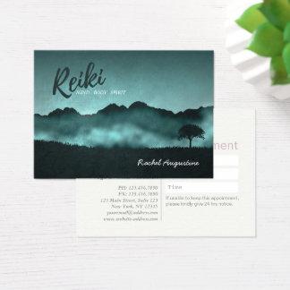 Tarjeta De Visita Cita natural del amo de Reiki y del instructor de