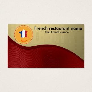 Tarjeta De Visita Cocina francesa
