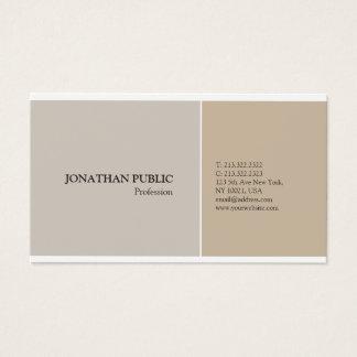 Tarjeta De Visita Colores armónicos elegantes modernos profesionales