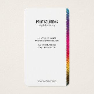 Tarjeta De Visita Colores de semitono