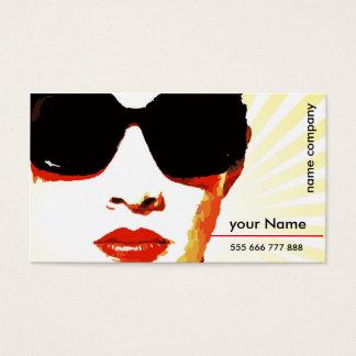 tarjeta de visita con el logotipo