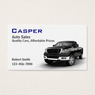 Tarjeta De Visita Concesionario de coches usado