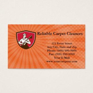 Tarjeta de visita confiable de los limpiadores de