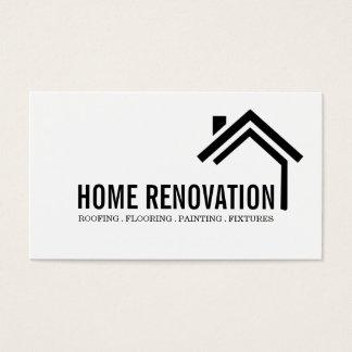Tarjeta De Visita Construcción de remodelado casera de la renovación