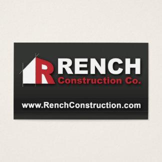 Tarjeta De Visita Construcción de Rench, LLC