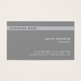 Tarjeta De Visita Corporativo elegante gris profesional elegante