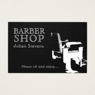 Tarjeta De Visita Cubierta de la imagen de la silla de la peluquería