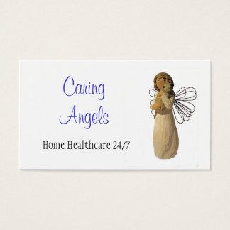 Tarjeta De Visita Cuidados de los ángeles que cuidan