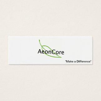 Tarjeta de visita de AeonCore