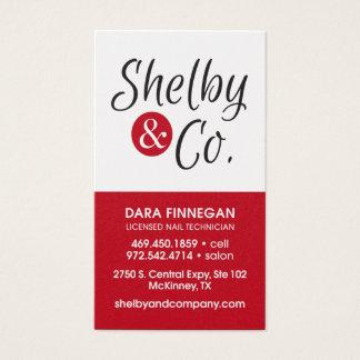 Tarjeta de visita de Dara Finnegan