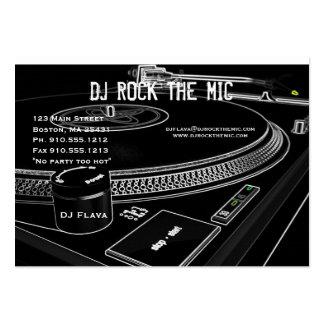 Tarjeta de visita de DJ 2
