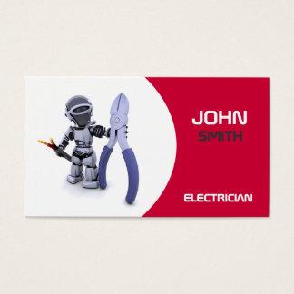 Tarjeta de visita de Electrican