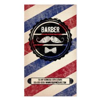 Tarjeta de visita de la barbería