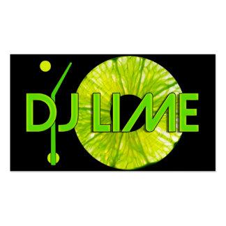 TARJETA DE VISITA DE LA CAL DE DJ