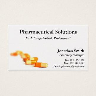 Tarjeta de visita de la farmacia
