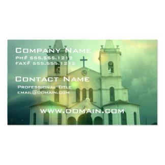 Tarjeta de visita de la iglesia cristiana