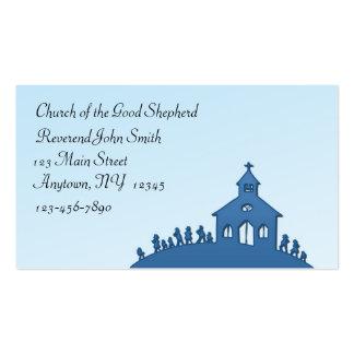 Tarjeta de visita de la iglesia