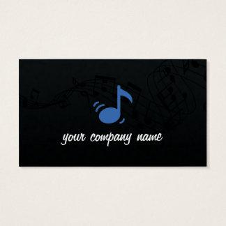 Tarjeta de visita de la música y del músico
