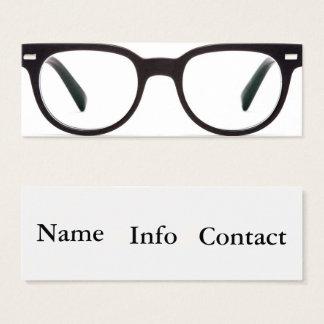 tarjeta de visita de la optometría de la visión de