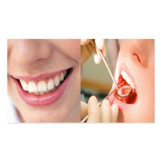 Tarjeta de visita de la práctica dental
