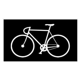 Tarjeta de visita de la tienda de la bici