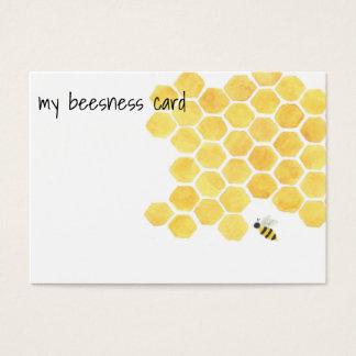 ¡Tarjeta de visita de las abejas! Tarjeta De Visita