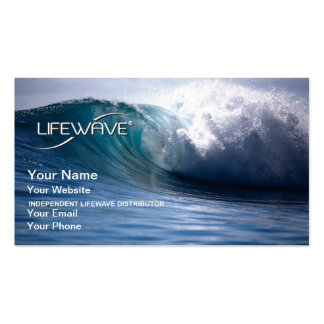 Tarjeta de visita de LifeWave