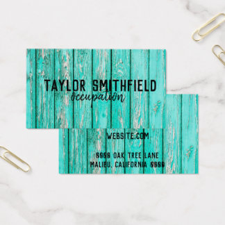 tarjeta de visita de moda auténtica del moho de