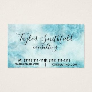 tarjeta de visita de moda moderna de mármol del