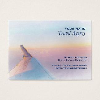 Tarjeta de visita del agente de viajes
