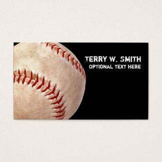 Tarjeta de visita del béisbol